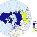 Modified Wikipedia Arctic Council Map