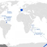 Wikipedia Map of France and its Overseas Possessions