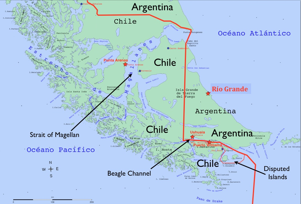 Tierra Del Fuego Map Tierra del Fuego Map   GeoCurrents Tierra Del Fuego Map