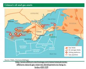 Crimea Natural Gas Map