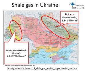 Shale Gas in Ukraine Map