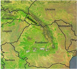 Ruthenia Map