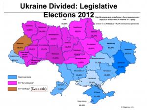 Ukraine2012ElectionMap