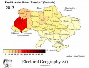 Ukraine2012ElectionSvobodaMap
