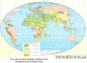 Bad Map of Islam