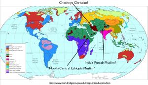 World Religion Map 2