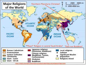 World Religion Map 3