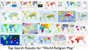 World Religion Maps