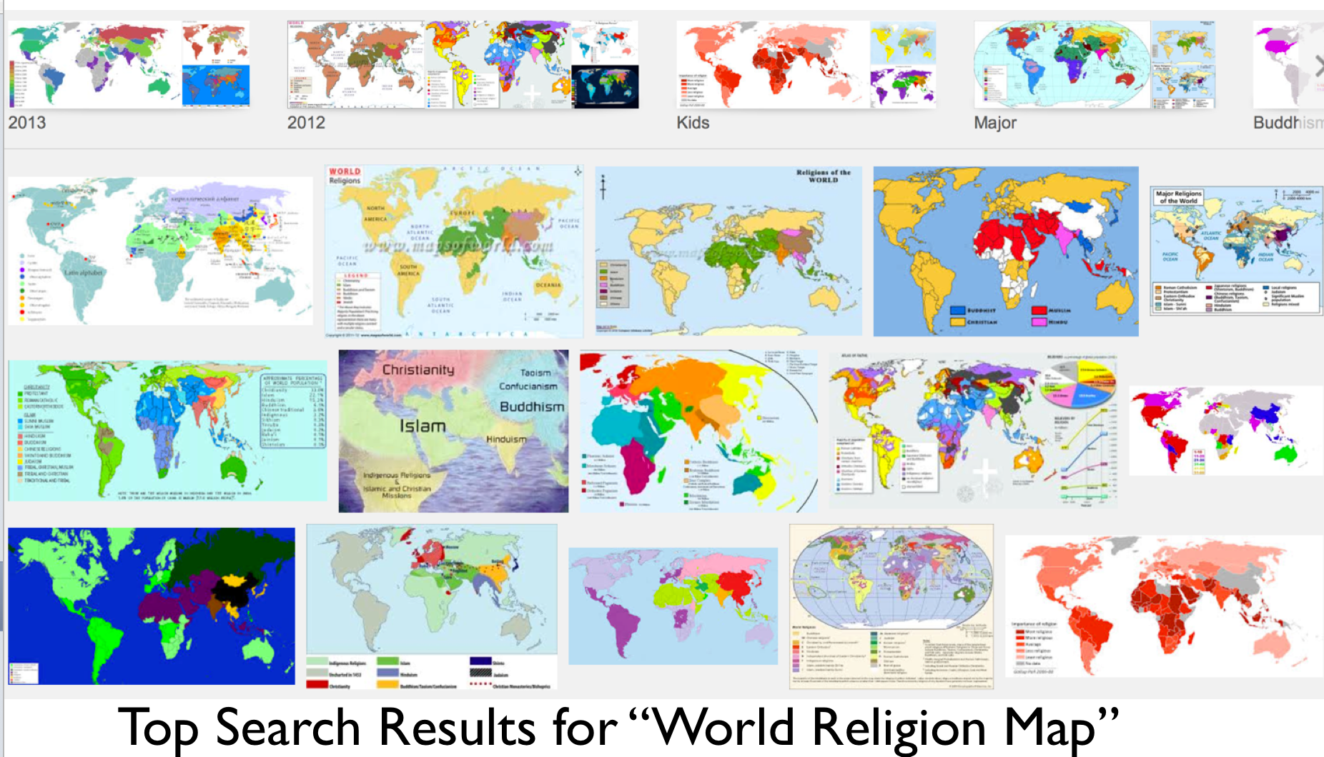 Picture of: Wikipedia The Difficulties Of Mapping World Religions And A Most Bizarre Map Geocurrents
