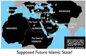 Future Islamic State Map