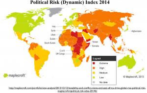 Maplecroft Political Risk Map