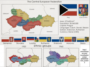 Central Europe Fantasy Map