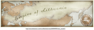 Fantasy Lithuania Map