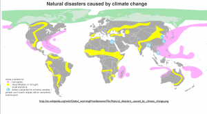 Global Warming Natural Disasters Map