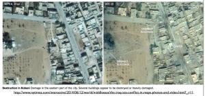 Strikes Near Kobani