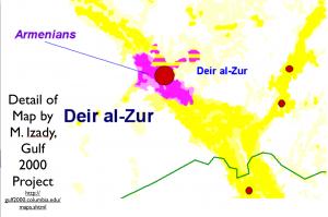 Syria Ethnity Map Detail 4
