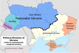 Ukraine Political Regions 2