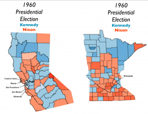 1060 Minnesota N. California election map