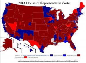 US 2014 House Vote