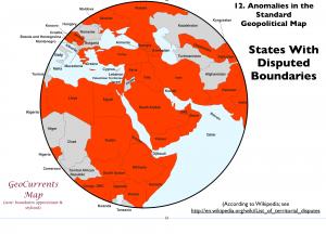 Border Disputes Map