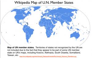 U.N. Member States Map