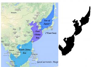 East Asian Seas Map