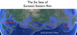 Six Seas of Eurasia's Eastern Rim