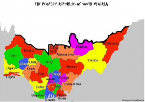 Division of Nigeria Map 2