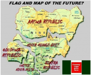Division of Nigeria Map 5