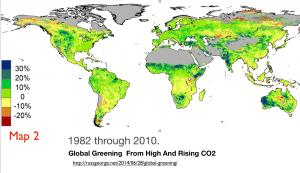 Greening Earth Map 2