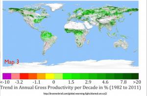 Greening Earth Map 3