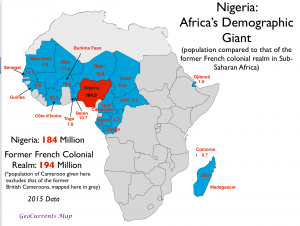 Nigeria Population Map
