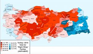 Turkey 2015 election Conservative vote