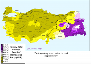Zazaki and Turkish Election 2