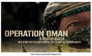 Operation Oman Dhofar Rebellion