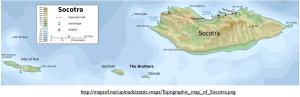Socotra map