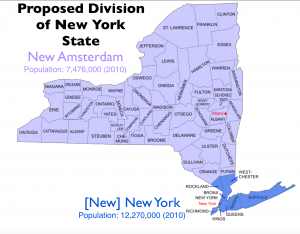 New York Division Map