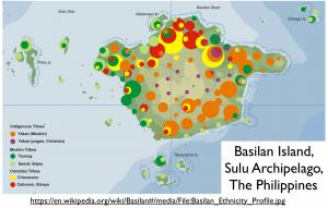 Basilan Religion Ethnicity Map