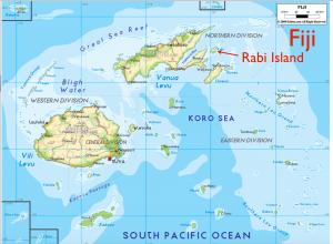Fiji Rabi Map