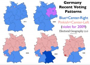 Germany Electoral Maps 1