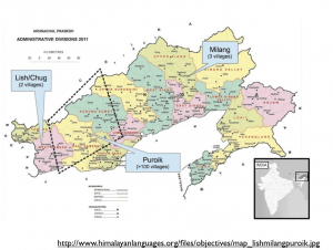Puroik people map