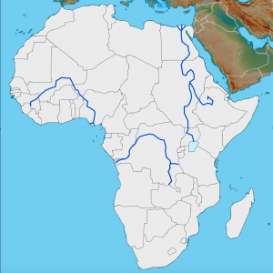 Africa Customizable Map 5