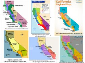 California regions map 1