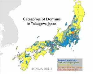 Domain Categories Japan Map