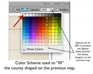 Keynote Color Matrix