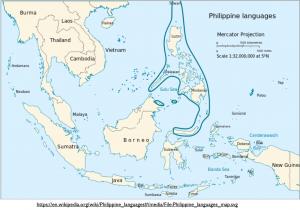 Philippine Languages Map