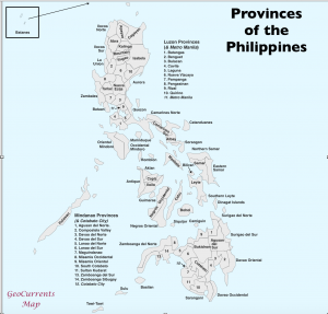 Philippines Provinces Map