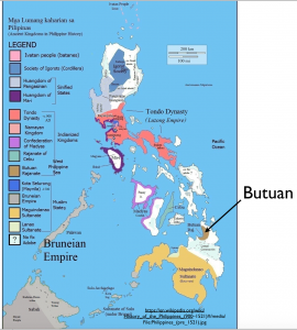 Pre-Hispanic Philippines Map