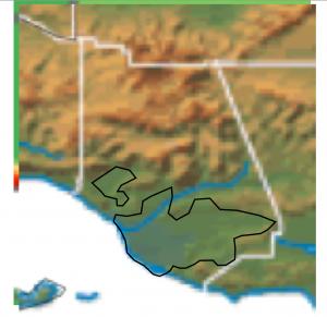 Ventura County Topography