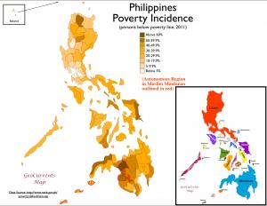 Philippines Poverty Map